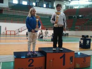 Barbara campionessa regionale Fioretto 2015
