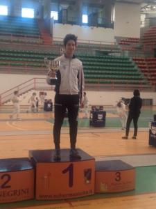 Cristian campione regionale Fioretto e Spada Allievi