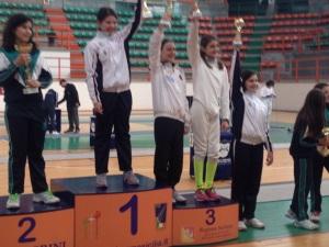 Martina vince la Spada Bambine a Messina