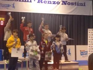 Bruno sul podio
