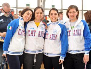 Rosanna, Chiara, Martina ed Eleonora