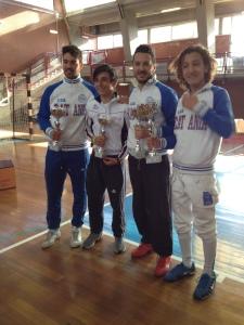 Gianpiero, Giuseppe, Matteo e Seby