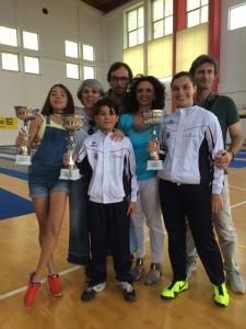Bruno e Paola con le famiglie