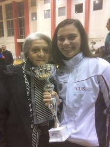 Paola con la nonna