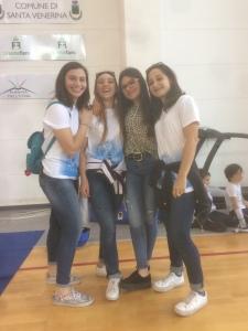 Paola, Marina, Martina ed Elisa, arbitri straordinarie!